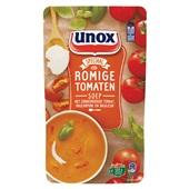 Unox romige tomatensoep soep in zak voorkant