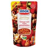 Unox Soep in Zak Tomaat extra gehaktbal voorkant