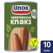 Unox vegetarische knaks voorkant