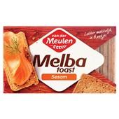 Van der Meulen Melba toast sesam voorkant