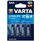 Varta batterijen long life power AAA voorkant