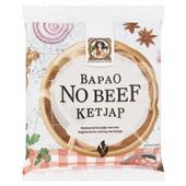 Vegetarische slager bapao no beef ketjap voorkant