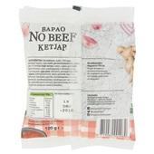 Vegetarische slager bapao no beef ketjap achterkant