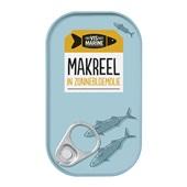 Vis Mari makreel in zonnebloemolie voorkant