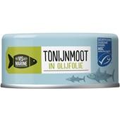 Vis Mari tonijnmoot in olijfolie voorkant