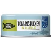 Vis Mari tonijnstukken in olijfolie voorkant