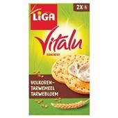 Vitalu Crackers Volkoren voorkant