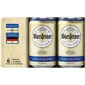 Warsteiner alcoholvrij bier voorkant