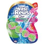 Witte Reus toiletblok appelbloesem waterlelie voorkant