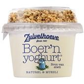 Zuivelhoeve Yoghurt Muesli Naturel voorkant